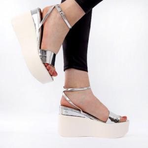 Sandale pentru dame cod PD2 Silver