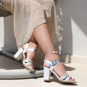 Sandale pentru dame cod Z06 White