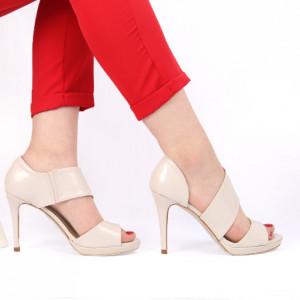 Sandale pentru dame cod ZY233 Beige