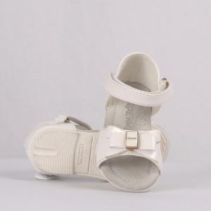 Sandale pentru fete cod CP57 Albe