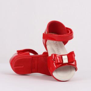 Sandale pentru fete cod CP57 Roși - Sandale pentru fete foarte comode ideale pentru sezonul estival - Deppo.ro