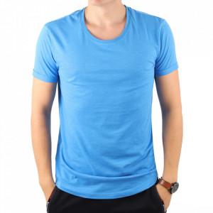 Tricou albastru cod 09554
