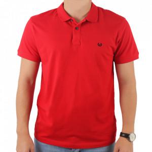 Tricou pentru bărbați cod 4002 Garnet