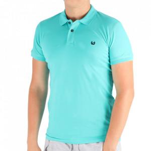 Tricou pentru bărbați Cod 4002 Mint
