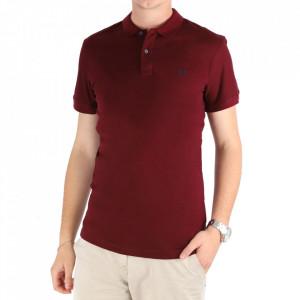 Tricou pentru bărbați Cod 4002 Visiniu
