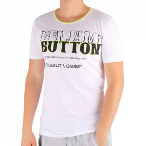 Tricou pentru bărbați Cod 6003 White