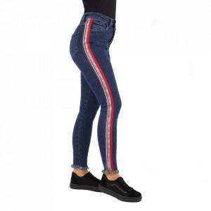 Pantaloni de blugi pentru dame cod 1144 Albaștri