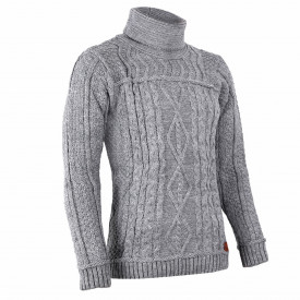 Bluză Brian Grey - Bluza este cel mai versatil articol vestimentar din sezonul rece, o piesă cu reputaţie a stilului casual având compoziţia 50% lână 50% acrilic - Deppo.ro