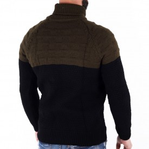 Bluză Gery - Bluza groasă perfectă pentru sezonul rece, o piesă cu reputaţie a stilului casual având compoziţia 70% material acrilic şi 30% lână - Deppo.ro