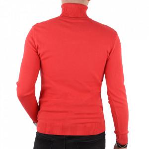 Bluză KPT-0212 Solid Red - Bluza simplă este cel mai versatil articol vestimentar din sezonul rece, o piesă cu reputaţie a stilului casual având compoziţia 50% Viscoză 28% PPTşi 22% Elastan - Deppo.ro