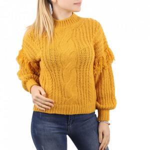 Bluză pentru dame cod F50 Yellow