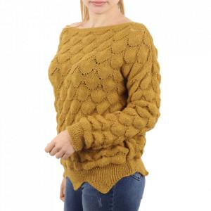 Bluză pentru dame cod F60 Yellow