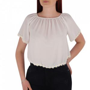 Bluză tip iie pentru dame cod YY7 White