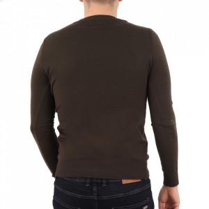 Bluză YY-27 Maro - Bluza simplă este cel mai versatil articol vestimentar din sezonul rece, o piesă cu reputaţie a stilului casual având compoziţia 50% Viscoză 28% PPTşi 22% Elastan - Deppo.ro