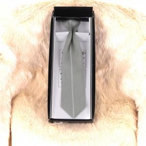 Cravată gri clasică