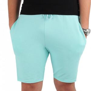 Pantaloni scurți pentru bărbați cod MP1317 Turquoise