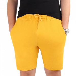 Pantaloni scurți pentru bărbați cod MP1317 Yellow