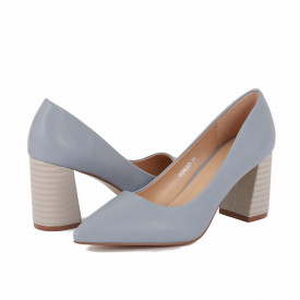 Pantofi cu toc cod OD0205 Albaștri