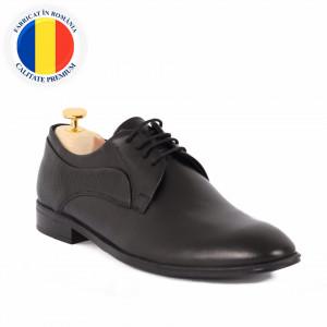 Pantofi din piele naturală Archie Negru