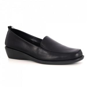 Pantofi din piele naturală cod 0208-15 Black