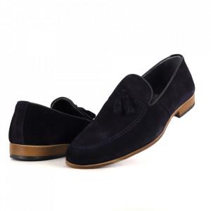 Pantofi din piele naturală cod 1305 Laci