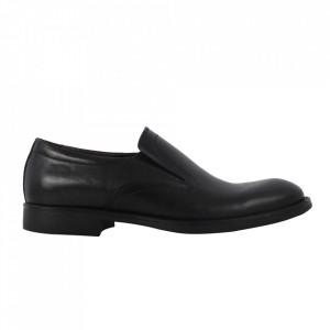 Pantofi din piele naturală cod 310 Negru