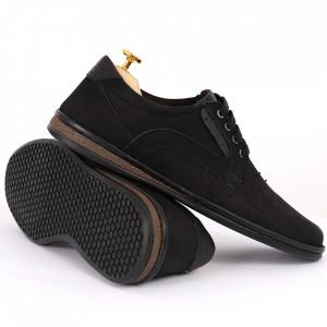 Pantofi din piele naturală Cod 640 Negru - Pantofi din piele naturală tip catifea  Model perforat , tălpicmoale ce conferă comoditatea de care ai nevoie! Finisaje îngrijite cu un design deosebit - Deppo.ro