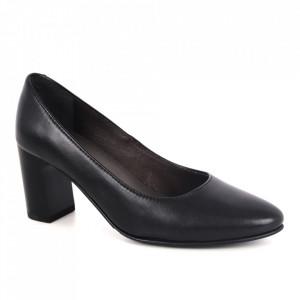 Pantofi din piele naturală cod 8591-1 Black