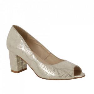 Pantofi din piele naturală cod G1/2 Gold