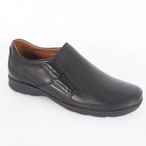 Pantofi din piele naturală pentru bărbați cod 1409 N