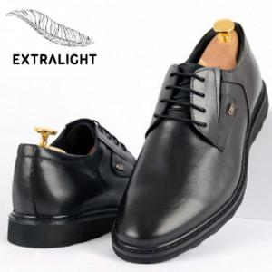 Pantofi din piele naturală pentru bărbați cod 2744 Negri