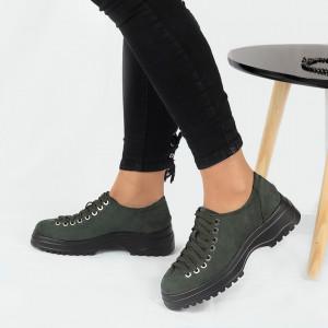 Pantofi pentru dame cod 1466D2 Verzi
