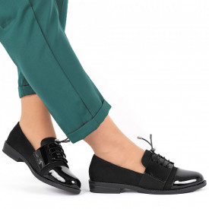 Pantofi pentru dame cod F20 Negri