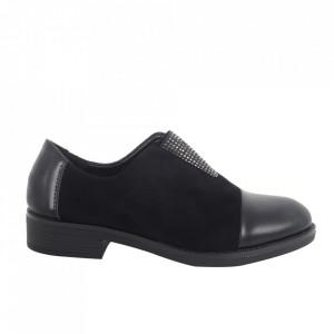 Pantofi pentru dame cod H-24 Black