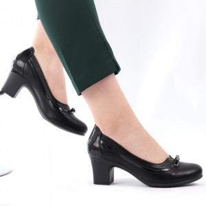 Pantofi pentru dame cod X24 Black