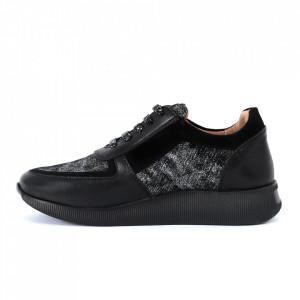 Pantofi sport din piele naturală Cod 473 - Pantofi damă din piele naturală, foarte confortabili cu un tălpic special care conferă lejeritate chiar și în cazurile în care petreci mult timp stând în picioare. - Deppo.ro