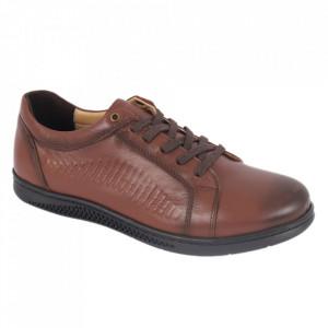 Pantofi Sport din piele naturală pentru bărbați cod 3679 Taba