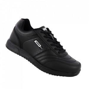 Pantofi sport din piele naturală pentru dame cod 1347-2 Black