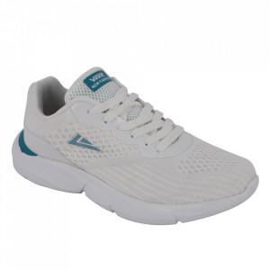 Pantofi sport pentru bărbați cod 1925-1 White