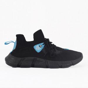 Pantofi Sport pentru bărbați cod 7777 Black