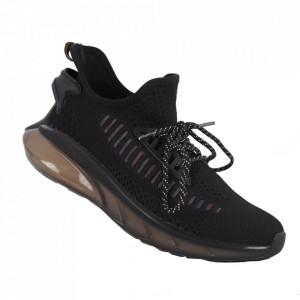 Pantofi sport pentru bărbați cod A05-2 Black