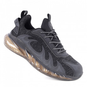 Pantofi sport pentru bărbați cod A06-1 Black