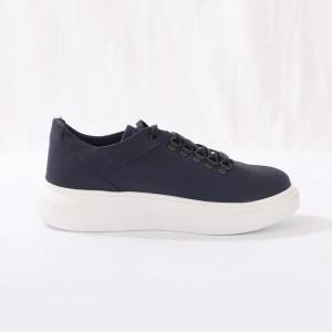 Pantofi Sport pentru bărbați cod CONLUK Navy - Pantofi sport pentru bărbați foarte comozi, ideali pentru ieșiri si practicarea exercitiilor în aer liber - Deppo.ro