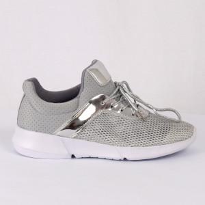 Pantofi Sport pentru dame Cod 16-216 Silver