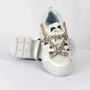 Pantofi Sport pentru dame Cod 2018-321 Albi