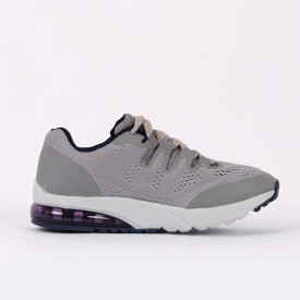 Pantofi Sport pentru dame cod AX-GREY1 Gri - Pantofi sport pentru dame foarte comozi, ideali pentru ieșiri si practicarea exercitiilor în aer liber - Deppo.ro