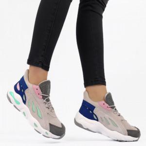 Pantofi Sport pentru dame Cod BRW 9044A-4 - Pantofi sport pentru dame dinpanza ,talpa din spuma Foarte confortabili si usori - Deppo.ro
