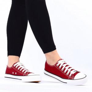 Pantofi sport pentru dame Cod TEN85-Visiniu