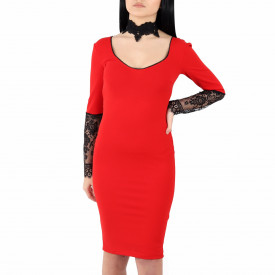 Rochie Ayla Red