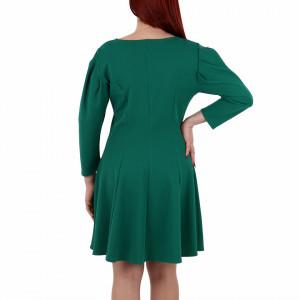 Rochie Laurel Verde - Rochie verdeelegantă dar tot odată lejeră ,ușor de accesorizat potrivită pentru orice ocazie . - Deppo.ro